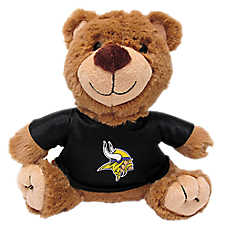 Minnesota Vikings NFL Teddy Bear Dog Toy
