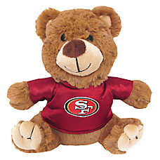 San Francisco 49ers NFL Teddy Bear Dog Toy