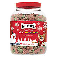 Milk-Bone® Limited Edition Mini's Flavor Snacks Dog Treat