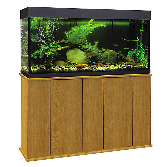 Marco 55 gallon upright aquarium stand fish aquarium for Petsmart fish tank stand