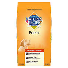 Nature's Recipe® Puppy Food - Natural, Chicken Meal & Rice