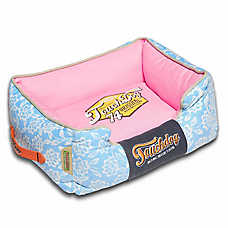 Pet Life Toughdog Rose Petal Cuddler Dog Bed