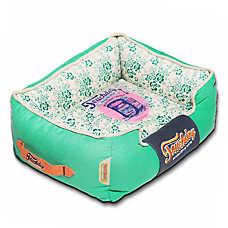 Pet Life Touchdog Vintage Flower Cuddler Dog Bed