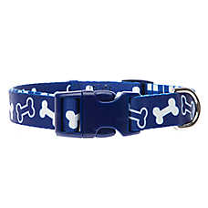 Top Paw® Classic Bone Plaid Dog Collar