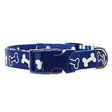 Top Paw® Classic Bone Plaid Dog Collar