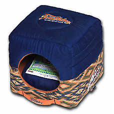 Pet Life Touchdog Vintage Tribal Convertible & Reversible Dog Bed