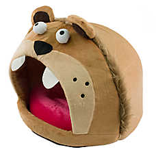 Pet Life Roar Bear Enclosed Dog Bed