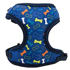 Top Paw® Multi-Bone Adjustable Fabric Dog Harness