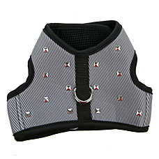 Top Paw® Studded Adjustable Fabric Dog Harness