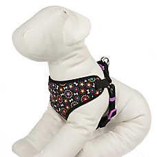 Top Paw® Skyler Floral Bone Dog Harness