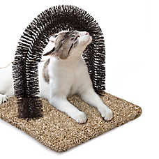 Whisker City® Grooming Arch Carpet Cat Scratcher