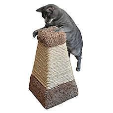 Whisker City® Pyramid Cat Sctracher