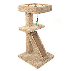 Whisker City® Scratch & Nest with Bed Cat Scratcher