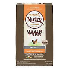 NUTRO™ Grain Free Senior Dog Food - Natural, Non-GMO, Chicken, Lentils & Sweet Potato