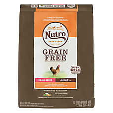 NUTRO® Grain Free Small Breed Adult Dog Food - Natural, Non-GMO, Chicken, Lentils & Sweet Potato
