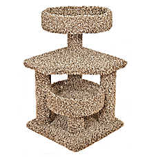 Whisker City® Platform Corner Cat Tower