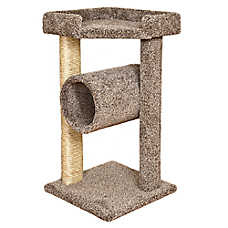 Whisker City® Rest and Play Tunnel Cat Scratcher