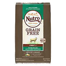NUTRO® Grain Free Adult Dog Food - Natural, Non-GMO, Lamb, Lentils & Sweet Potato
