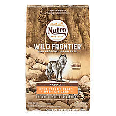 NUTRO® Wild Frontier Adult Dog Food - Grain Free, Open Valley Recipe