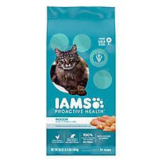 Iams® ProActive Health™ Indoor Adult Cat Food - Weight & Hairball Care, Chicken