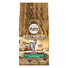 NUTRO™ Wild Frontier Adult Dog Food - Natural, Grain Free, Non-GMO, Rolling Meadows Recipe