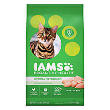 Iams® ProActive Health™ Optimal Weight Adult Cat Food - Chicken