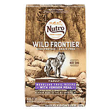 NUTRO™ Wild Frontier Adult Dog Food - Natural, Grain Free, Non-GMO, Woodland Trail Recipe
