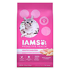Iams® ProActive Health™ Adult Cat Food - Sensative Stomach, Chicken