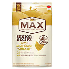 NUTRO® MAX® Senior Dog Food - Natural, Chicken