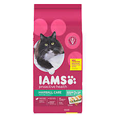 Iams® ProActive Health™ Mature Adult Cat Food - Haireball Care, Chicken