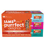 Iams® Purrfect Delights™ Flaked Cat Food - Variety Pack, 18ct