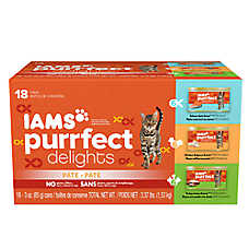 Iams® Purrfect Delights™ Pate Cat Food - Variety Pack, 18ct