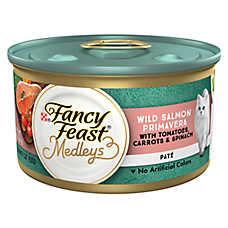 Fancy Feast® Medleys Adult Cat Food - Wild Salmon Primavera