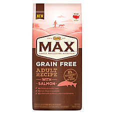 NUTRO® MAX® Grain Free Adult Dog Food - Natural, Salmon
