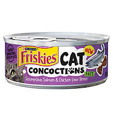 Purina® Friskies® Cat Concoctions Cat Food - Salmon & Chicken Liver