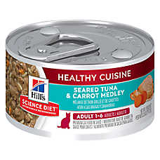 Hill's® Science Diet® Healthy Cuisine Adult Cat Food - Seared Tuna & Carrot