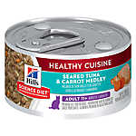 Hill's® Science Diet® Healthy Cuisine Senior Cat Food - Seared Tuna & Carrot