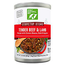 Only Natural Pet PowerStew Dog Food - Natural, Grain Free, Beef & Lamb