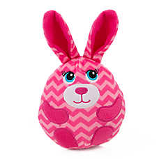 Grreat Choice® Bunny Egg Dog Toy - Squeaker