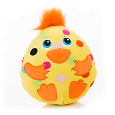 Grreat Choice® Chick Egg Dog Toy - Squeaker