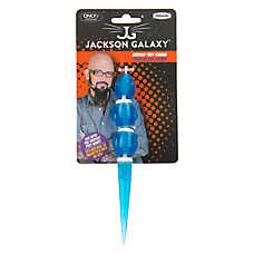 Jackson galaxy ground toy iguana cat toy color varies for Jackson galaxy shop