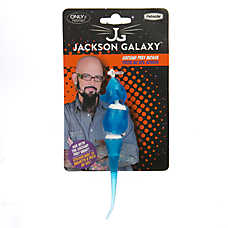 Jackson galaxy ground prey mouse cat toy color varies for Jackson galaxy pet toys