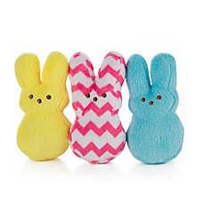 PEEPS® Bunny 3-Pack Cat Toy - Catnip