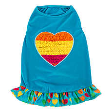 Top Paw™ Rainbow Heart Dress