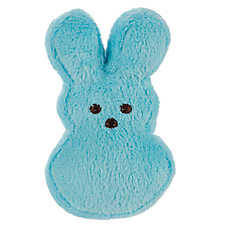PEEPS® Bunny Dog Toy - Plush, Squeaker