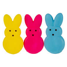 PEEPS® Bunny 3-Pack Dog Toy - Squeaker