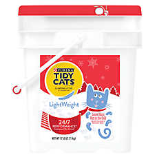 Purina® TIDY CATS® LightWeight 24/7 Performance Clumping Cat Litter