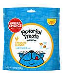 Grreat Choice® Flavorful Treats Cat Treat - Chicken