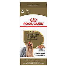 royal canin breed health nutrition yorkshire terrier adult dog food 4ct dog canned food. Black Bedroom Furniture Sets. Home Design Ideas