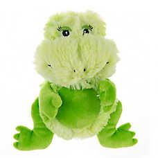 Top Paw™ Swirl Frog Dog Toy - Squeaker, Plush